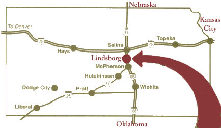 Lindsborg Location
